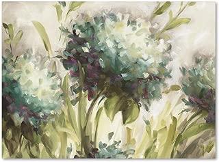 Hydrangea Field by Lisa Audit, 35x47-Inch Canvas Wall Art