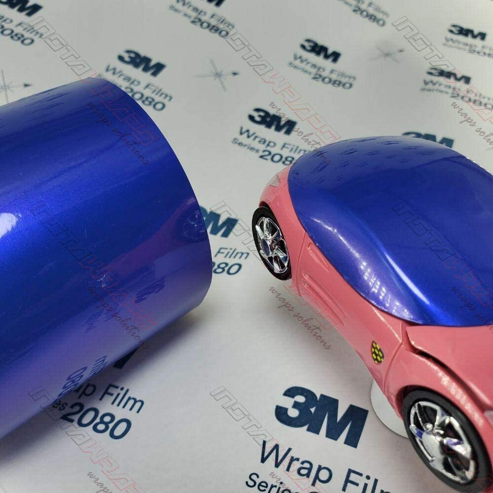 3M Fixed price for Store sale 1080 Gloss Flip Electric Wave Film GP287 Vinyl WRAP CAR