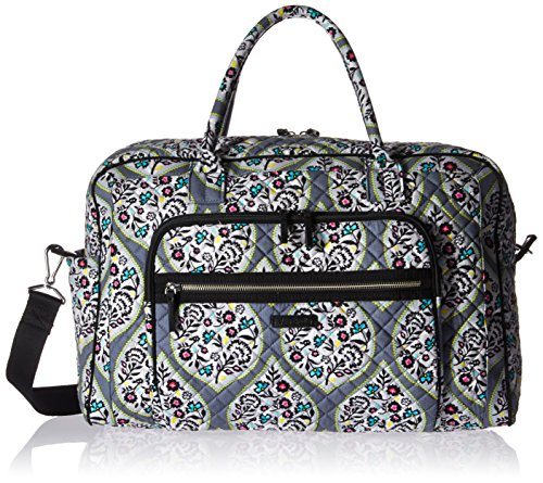 Vera Bradley Signature Cotton Weekender Travel Bag, Heritage Leaf