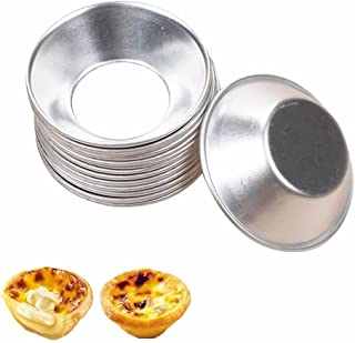 RAYNAG 20 Pack Mini Pie Muffin Cupcake Pans Egg Tart Bakeware Non-Stick Baking Cups