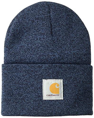 Carhartt Unisex-Adult Watch Hat Beanie Hat, Dark Blue/Navy, Einheitsgröße