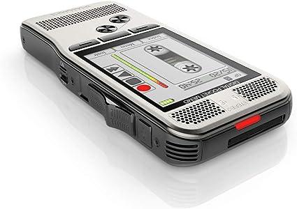 Philips Pocket Memo Digitales Diktiergerät Dpm7200 Schiebeschalter Bedienung 2 Mikrofone Für Stereo Tonaufnahmen Farbdisplay Edelstahlgehäuse Inkl Diktiersoftware Speechexec Basic 2 Jahres Abo Bürobedarf Schreibwaren