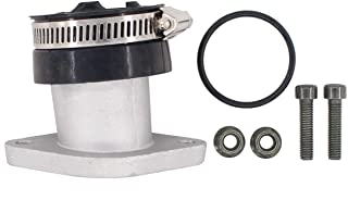 MOTOKU Intake Manifold Carburetor Boot Carb Joint for Yamaha YFM250X YFM250B Bear Tracker 250 4 Wheeler ATV