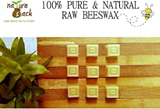 Beeswax - NatureSack's 100% Raw Unrefined Beeswax- 50 gms (Cubes)