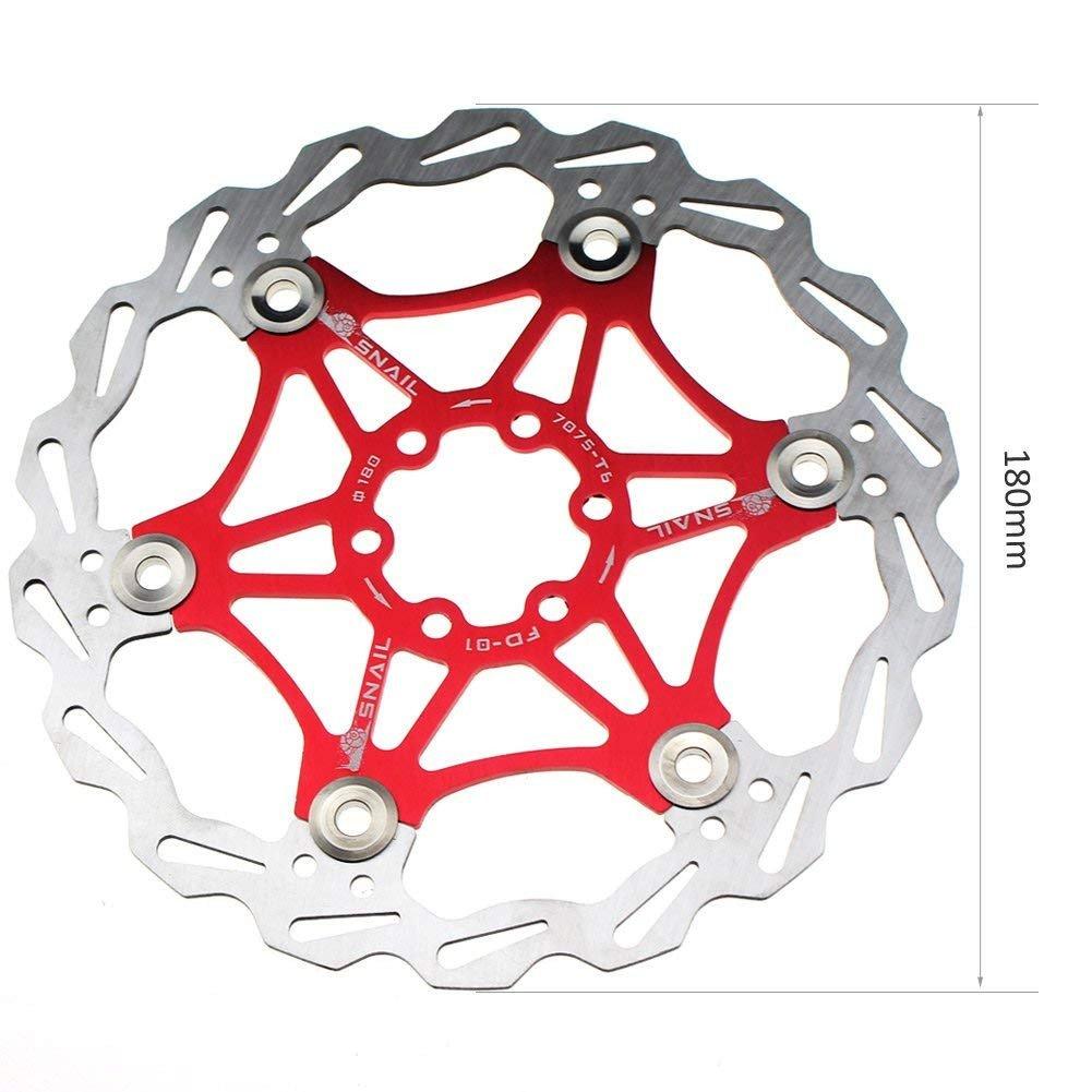 Bicicleta de freno de disco del rotor Rotores flotantes del freno ...