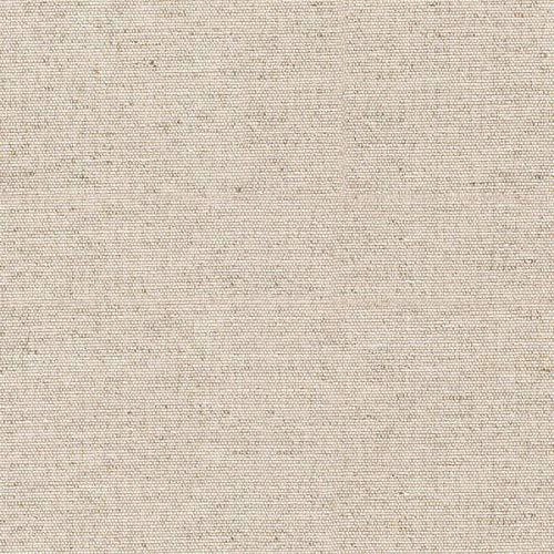 Kt KILOtela Tela de loneta Lisa - Decoración hogar, Cojines, sillas, Cortinas, tapizado Ligero - Retal de 300 cm Largo x 280 cm Ancho | Beige Lino ─ 3 Metros