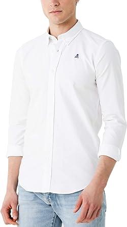 Scalpers NOS Button Down Shirt - Camisa para Hombre, Talla 37 ...