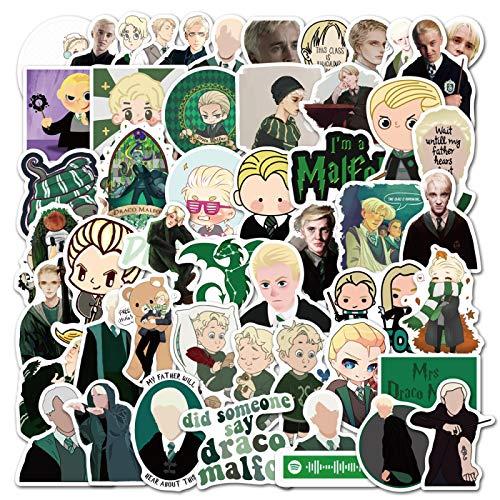 Master Draco Malfoy Sticker Harry Potter Peripheral Laptop Tablet Phone Guitar Sticker 50PCS