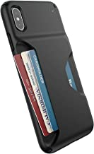 Speck Products Presidio Wallet iPhone Xs Max Case, Black/Black