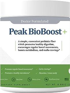 Peak Biome: Official Peak BioBoost - Prebiotic Fiber Supplement for Amazing Poops - 30 Servings, One Month Supply - Flavor...