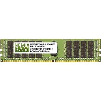 DDR4 2400MHz PC4-19200 ECC Registered RDIMM 2rx4 1.2v A-Tech 32GB Replacement for Micron MTA36ASF4G72PZ-2G3B1 Single Server Memory Ram Stick MTA36ASF4G72PZ-2G3B1-ATC