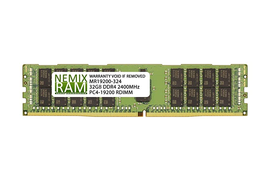 Supermicro MEM-DR432L-SL01-ER24 32GB DDR4 2400 RDIMM Server Memory RAM