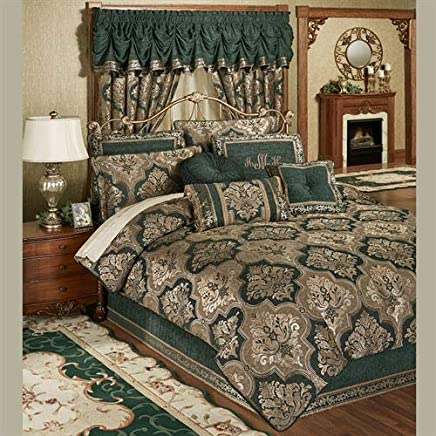 Touch Of Class Marietta Comforter Set Green