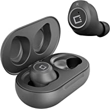 Wireless V5 Bluetooth Earbuds for Jabra Elite 85h with Charging case for in Ear Headphones. (V5.0 Black)