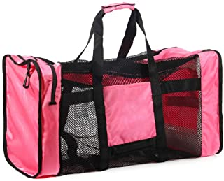 Lixada 100L Mesh Duffle Gear Bag for Scuba Diving Snorkeling Swimming Beach and Sports Equipment