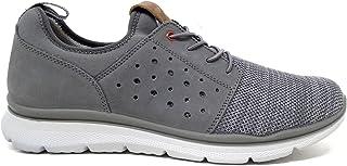 Imac 702120 Sneakers Slipon Mesh Grigio Scarpe Uomo Casual Estive Made in Italy