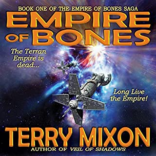 Empire of Bones audiobook cover art
