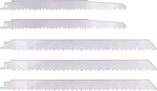 KONIGEEHRE 5 PACK Stainless Steel Reciprocating Saw Blades for Frozen Meat Bone Food Cutting Beef Turkey Wood Pruning