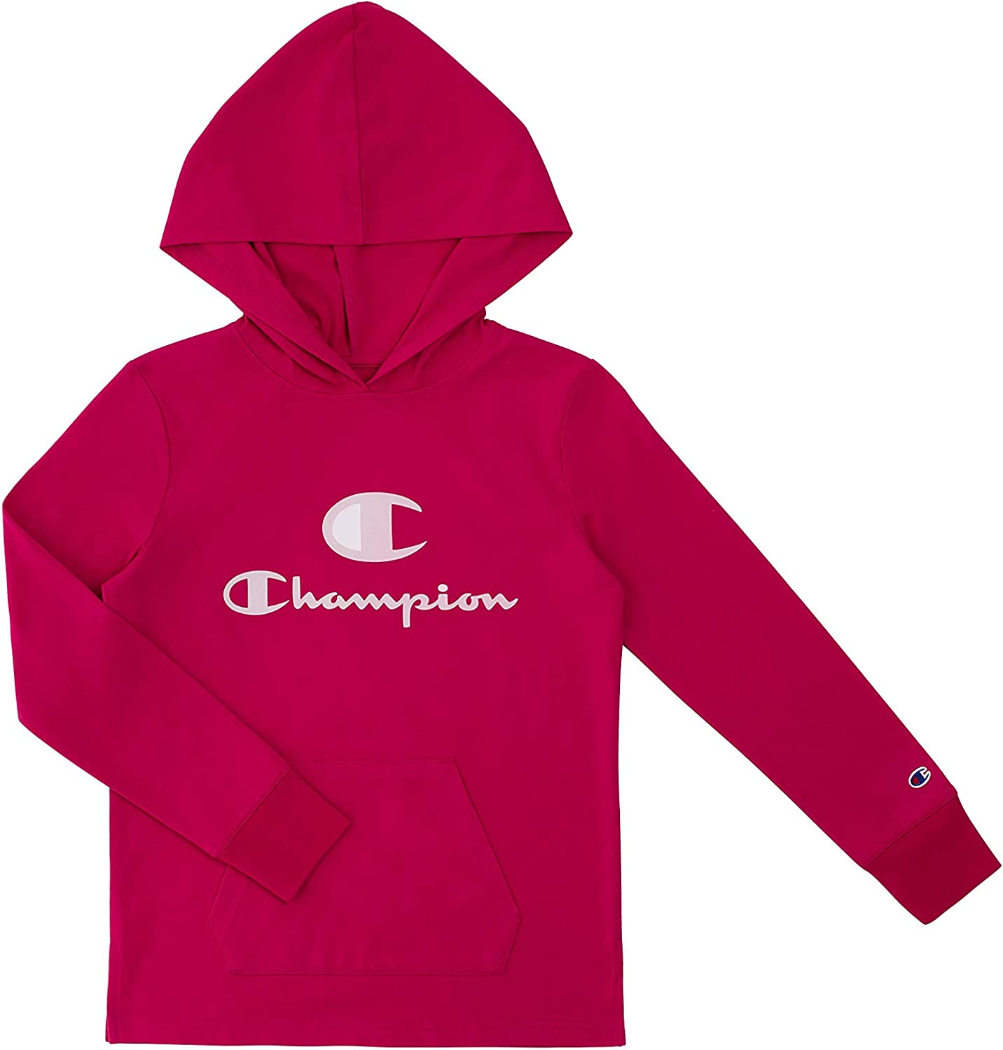Champion Heritage Girls Long Sleeve Tee security Super special price Stretch Top Shirt Hooded