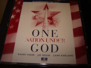 One Nation Under God - Accompaniment / RANDY VADER JAY ROUSE CAMP KIRKLAND / Praise Gathering Music Group / Fanfare and processional on god of our fathers / One nation under god / The star-spangled banner / Salute to the armed forces underscore / Salute to the armed forces / Sunday school spectacular underscore / Sunday school spectacular / The mansions of the lord / Once to every man and nation / The majesty and glory of your name underscore / The majesty and glory of your name / When all is said and done / One nation under god finale
