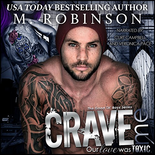 Crave Me audiobook cover art