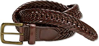 Orvis Braided Latigo Leather Belt