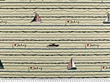 Zanderino ab 1m: Dekostoff Sailing, Halbpanama, Boote und