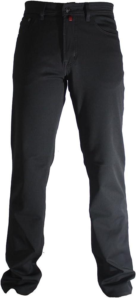 Pierre cardin, jeans da uomo, pantaloni gamba dritta,  62% poliestere, 16% cotone, 20% viscosa, 2% elastan 3196 237.88A