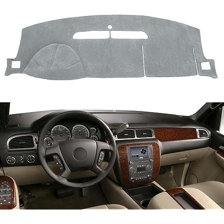 Premium Carpet, Gray DashMat Original Dashboard Cover Chevrolet and GMC