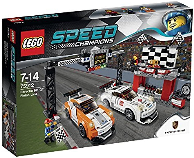 LEGO Speed Champions 75912 - Porsche 911 GT Ziellinie