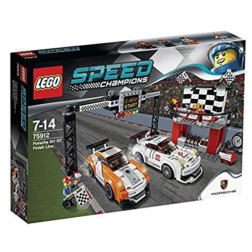 LEGO Speed Champions 75912 - Linea del Traguardo Porsche 911 GT
