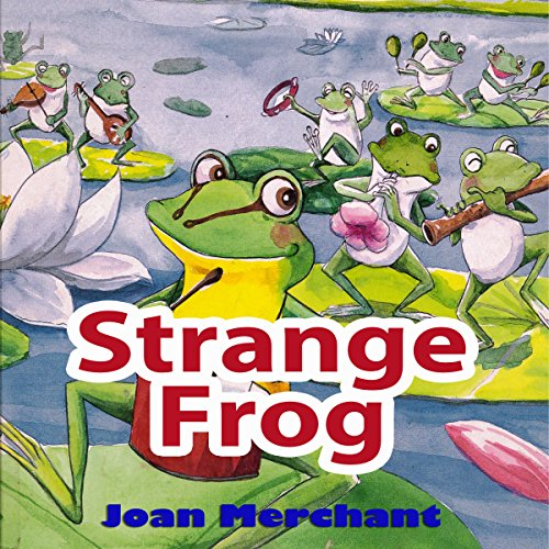 Strange Frog audiobook cover art