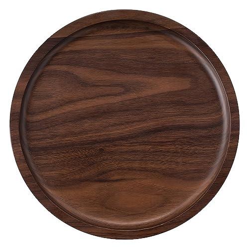 Round Wooden Trays Amazoncom