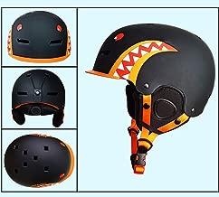 VIWIV Casco de esquí Equipo Profesional Hijos Adultos Hombres y de Mujeres de Chapa de Nieve Casco de Seguridad Caliente Sombrero, Multi-Color, Multi-Tamaño Opcional,1,M