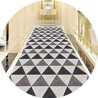 PPCP Hallway Runner Rug Long Runner Rugs Corridor Carpet Modern Simplicity Hotel Stairs Corridor Aisle Home Non-Slip Mat C...