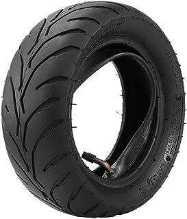 Alextry Vorne Hinterer Reifen vorne hinten + Schlauch 90/65/6.5 110/50/6.5 für 47cc 49cc Mini Pocket Bike, 110/50 6.5