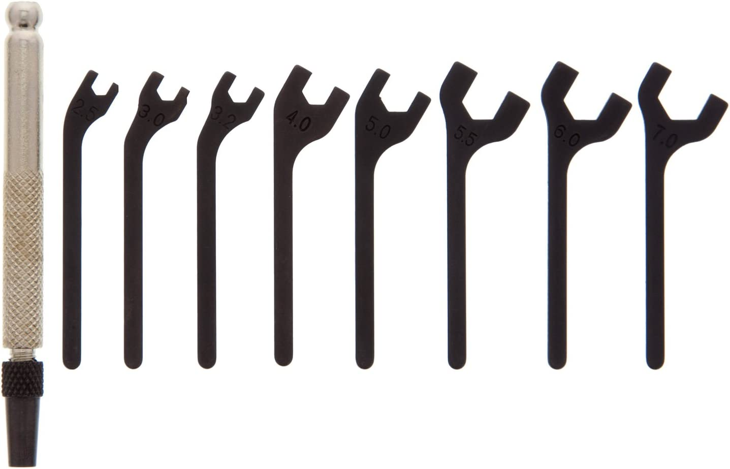 Moody Free shipping New Tools - 9 Pc. Interchangeable Open End Seasonal Wrap Introduction Set; Metric Wrench