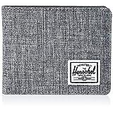 Herschel Supply Co Men's Hank Bi-Fold Fabric Wallet - Raven X