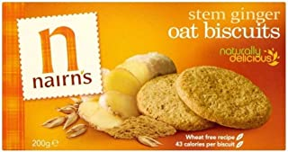 Nairn's Stem Ginger Oat Biscuits 200g