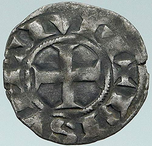 1285 FR 1285 FRANCE Archbishopric of BESANCON Antique AR coin Good Uncertified