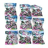 (9個入り)スプラトゥーン2 マスコット入りバスボール グッズ 入浴剤 全6種類 フレッシュバブルの香り イカ