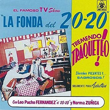"""El Famoso TV Show """"La Fonda Del 20-20"""" Tremendo Traqueteo!"""