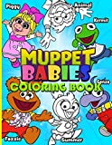 Muppet Babies Coloring Book: Muppet Babies Stress Relief Coloring Books For Adults