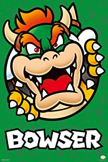 Pyramid America Super Mario Bros Bowser Nintendo Cool Wall Decor Art Print Poster 12x18