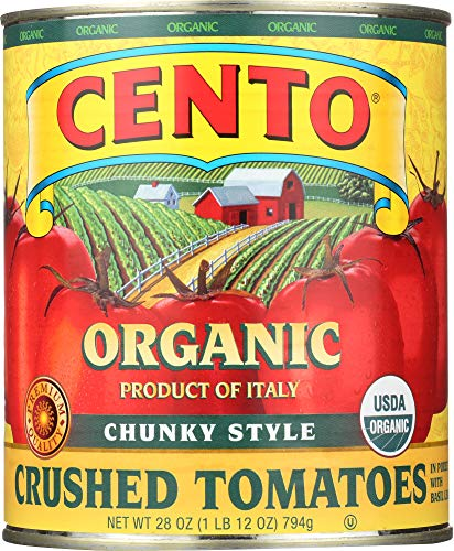 (NOT A CASE) Organic Chunky Style Crushed Tomatoes