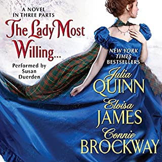 The Lady Most Willing... audiobook cover art