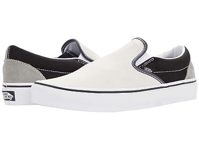 Vans Classic Slip-On ((Mix & Match) Black/True White) Skate Shoes