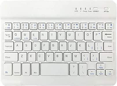 Finerwi Mini Bluetooth Funktastatur Slim Phone Tablet Tastatur f r iPad iPhone Samsung Huawei Android Smartphone White Schätzpreis : 32,65 €