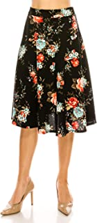 Best cotton skirts knee length Reviews