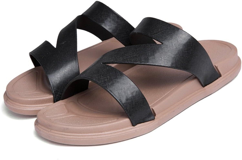 Dig dog bone Women and Men's Slipper Flat Heel Strap Slip On Camel shoes
